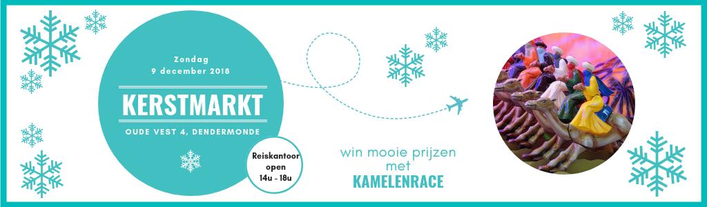 Kamelenrace Kerstmarkt Dendermonde 2018 | LetsBook 1024 x 300